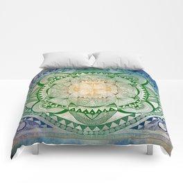 Metta Mandala, Loving Kindness Meditation Comforters
