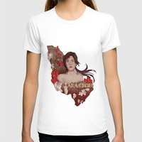 megan lara T-shirts featuring Lara Croft by Natalie Lucht