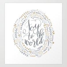 Joy to the World Art Print