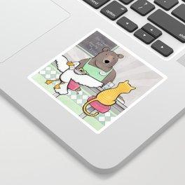 Diner Sticker
