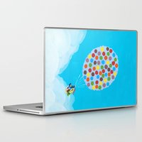pixar Laptop & iPad Skins featuring Up - Disney/Pixar by Justine Shih