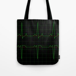 Normal Heart Rhythm Tote Bag