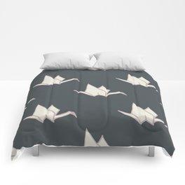 Sarah's Origami Cranes Comforters