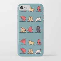 yoga iPhone & iPod Cases featuring Cat Yoga by Huebucket