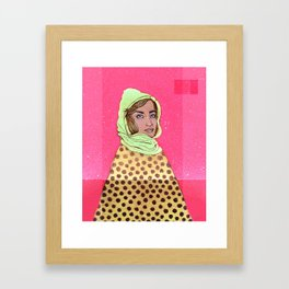 Mount Mae Framed Art Print