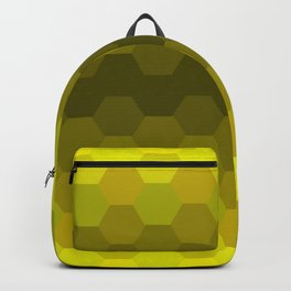 Yellow Honeycomb Fade Backpack