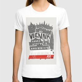 Vienna City Print T-shirt