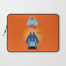 Le petit Mikel /Character & Art Toy design for fun Laptop Sleeve