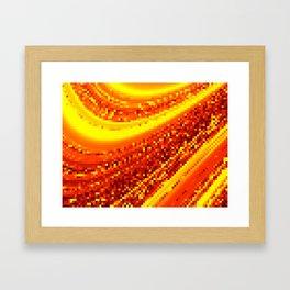 square field on Framed Art Print