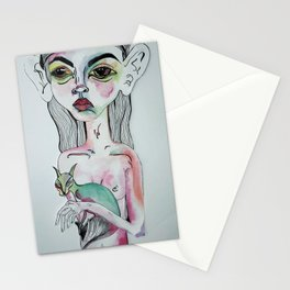 Sister with Siamese Stationery Cards