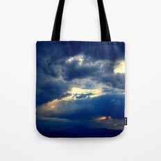 Deep Blues Tote Bag