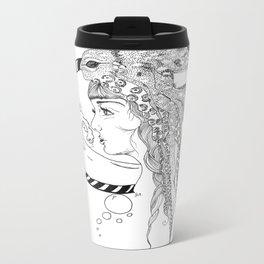 Octopus Woman Travel Mug