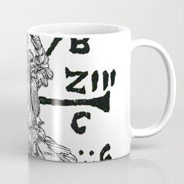 VomTag. Medieval Renaissance Swordsman Coffee Mug