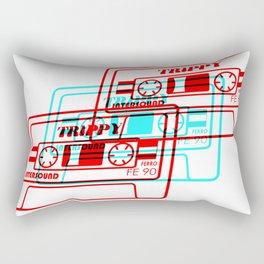 Trippy Music Rectangular Pillow