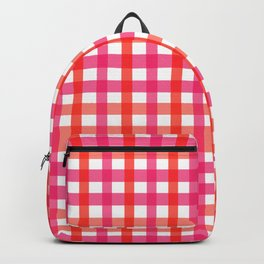 Gingham: Strawberry Flavor Backpack