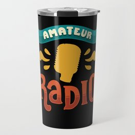 Ham Radio Gifts: Amateur Radio Travel Mug