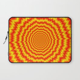 Big Bang in Red and Yellow Laptop Sleeve