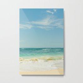 Beach Love Maui Style Hawaii Metal Print
