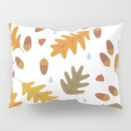 Oak Leaves light Pillow Sham