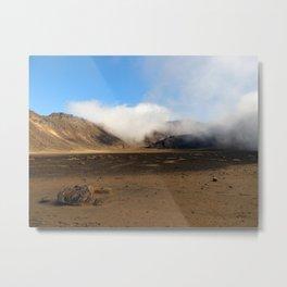 Tongariro Volcanic Landscape - New Zealand Metal Print