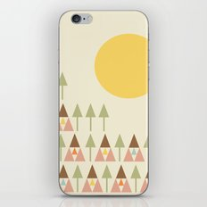 Happy Camper iPhone & iPod Skin