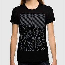 Ab Lines 45 Grey and Black T-shirt
