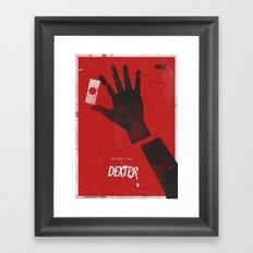 Dexter - Alternative Movie Poster; Michael C. Hall Framed Art Print