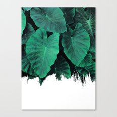 Painting on Jungle Canvas Print