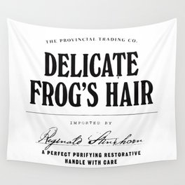 Delicate Frog's Hair Wall Tapestry