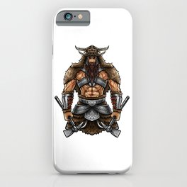 Norseman Berserker | Viking Warrior Valhalla Odin iPhone Case