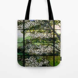 Louis Comfort Tiffany - Decorative stained glass 2. Tote Bag