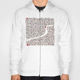 mapping home Hoody