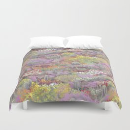 Life in Death Valley Duvet Cover