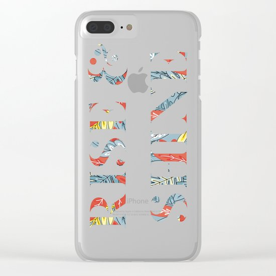 Rise and Shine Clear iPhone Case
