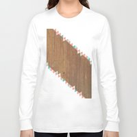 "wooden Long Sleeve T-shirts featuring WooDEn ART by ""CVogiatzi."