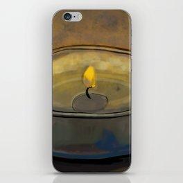 Tea Light iPhone Skin
