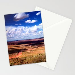Painted Desert Scape Stationery Cards