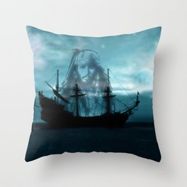 In The Still Of The Night 2 ... By LadyShalene Throw Pillow
