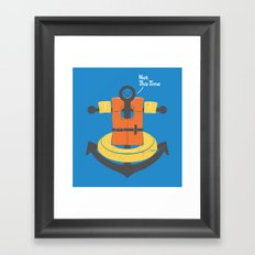 I Refuse To Sink Framed Art Print