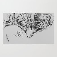 harry styles Area & Throw Rugs featuring Harry Styles #4 by xprettystyles