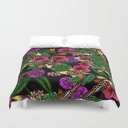 Tropical Koi Duvet Cover