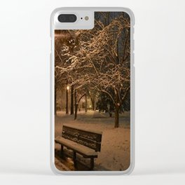 Grab a seat Clear iPhone Case