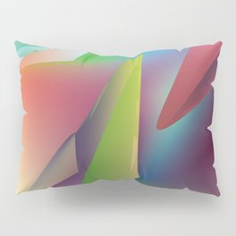 thy turn of the colors  Pillow Sham