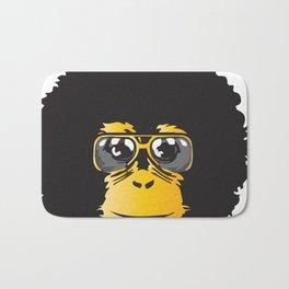Monkey Retro Bath Mat