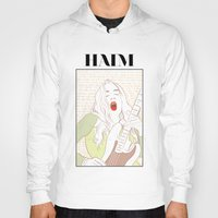 haim Hoodies featuring Este Haim by chazstity