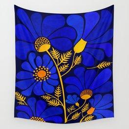 Wildflower Garden Wall Tapestry