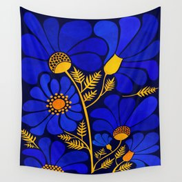 Wildflower Garden Wall Tapestry