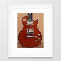 the wire Framed Art Prints featuring Live Wire by Eric Rasmussen