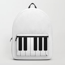 Piano keys. Playing Piano #society6 #decor #buyart #artprint Backpack