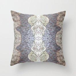 Tree Weave 4 Throw Pillow